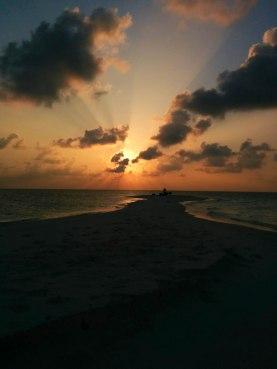 Sunset at the Sandbank
