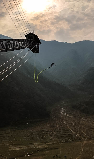 bungee pokhara nepal