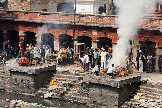 Pashupatinath_Cremations