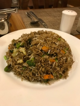 veg fried rice kathmandu hotel friends home