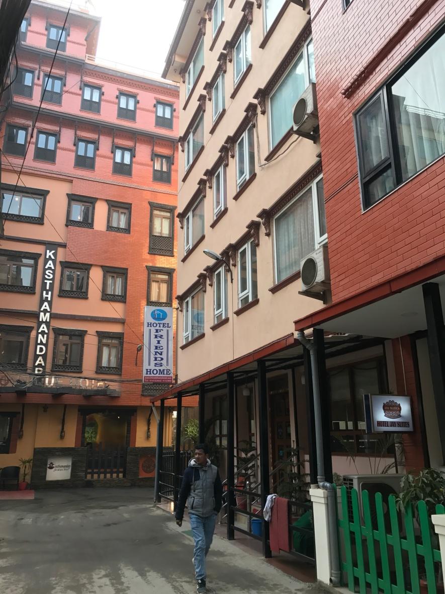 hotel friends home kathmandu nepal