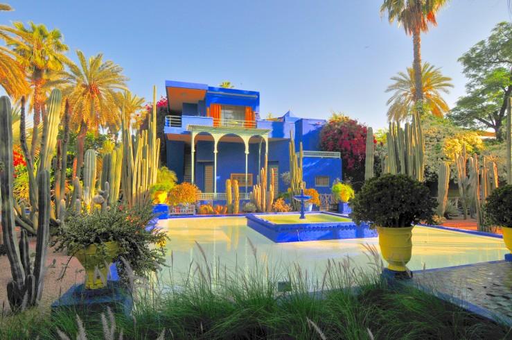Jardin Majorelle in Marrakech