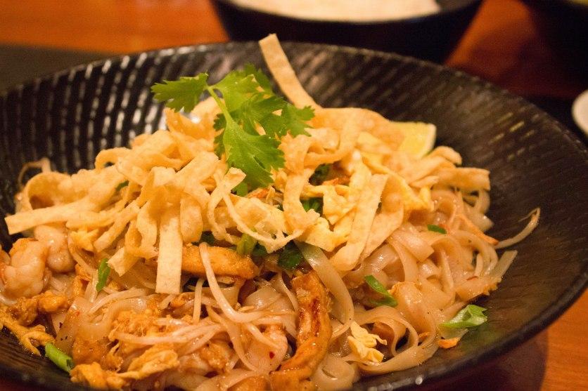Wok Fried Noodles at the Noodle House Dubai