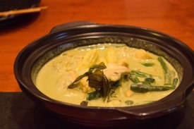 Thai Green Curry at the noodle house dubai
