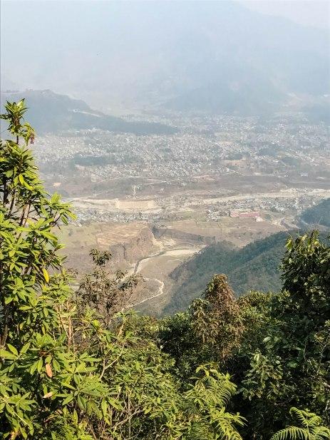 zipline pokhara views