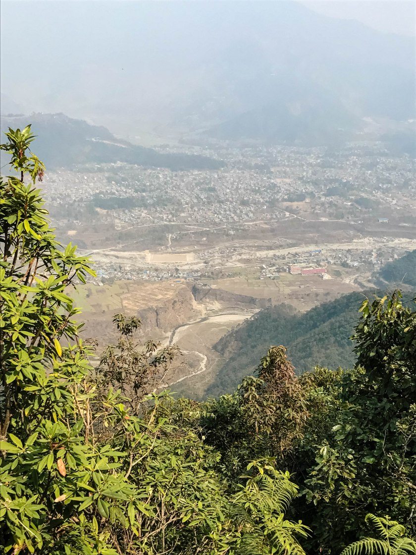 zipline pokhara views