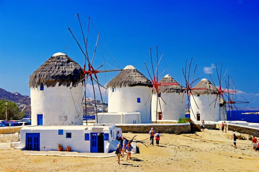 kato milli windmills mykonos greece