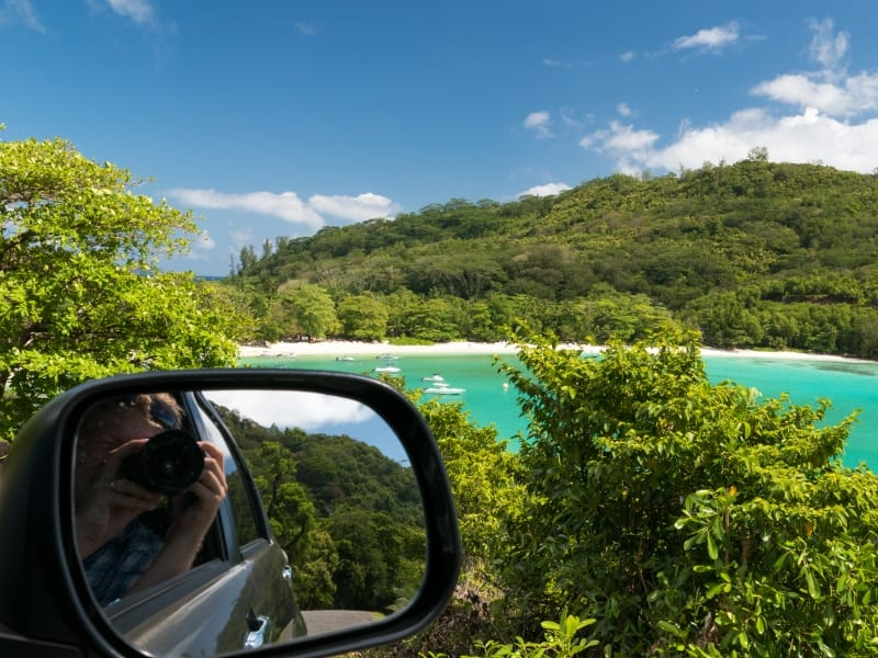 Mahe by car Seychelles