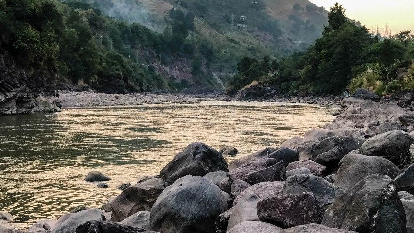 village view restaurant muzaffarabad neelum jhelum river