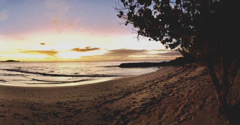 beach sunset seychelles praslin