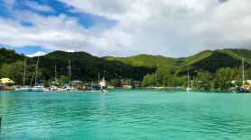 Praslin Ferry Harbour, Praslin, Seychelles