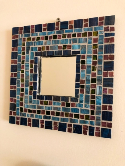 Mosaic Mirror by The Home Canvas