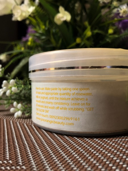 Cleopatra's Secret Glow Mask by Jo's Organic Beauty